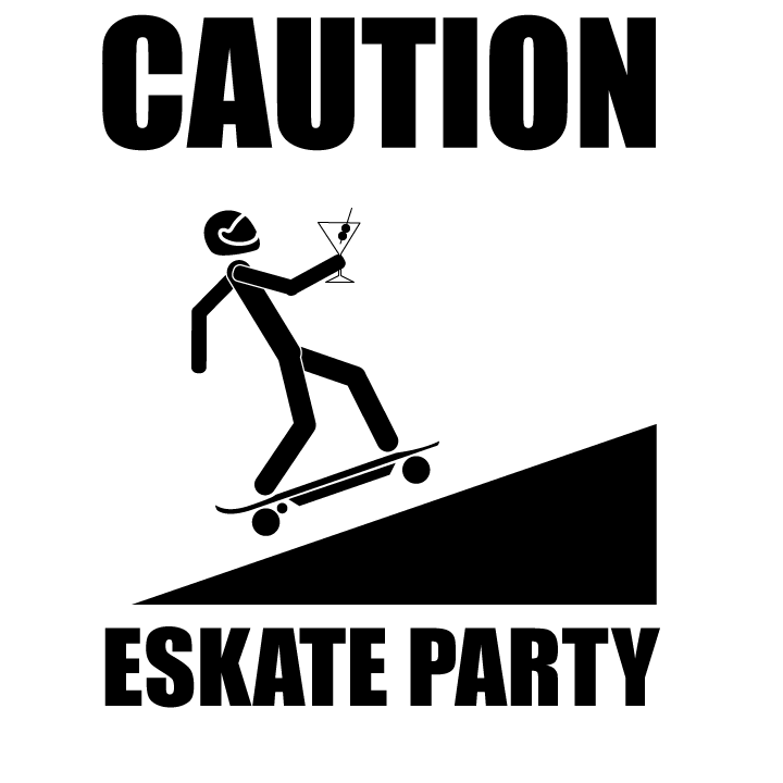 caution-esk8-party